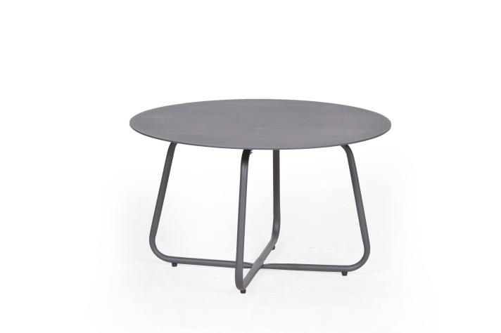 GURTEN Aluminium Sofa Tisch DIA 58.5 cm